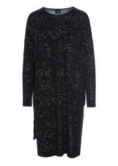 Mörkt glittrande klänning